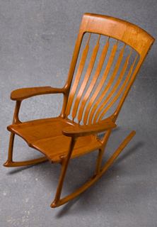 Walnut Rocking Chair Mesquite Rocking Chair Cherry Rocking Chair