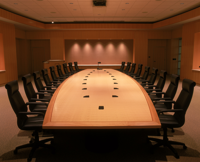 Custom Designed Furniture - 18 foot conference table